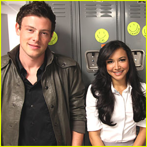 Cory Monteith & Naya Rivera: Samsung in Chicago!