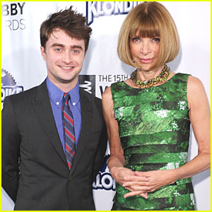 Daniel Radcliffe: Webby Awards with Anna Wintour!