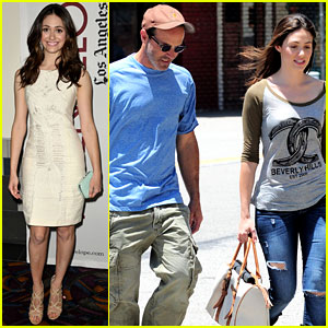 Emmy Rossum: Lunch with D.J. Caruso!