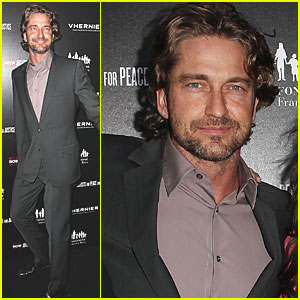 Gerard Butler: Haiti Benefit Launch with Vhernier & APJ!