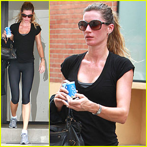Gisele Bundchen: Zico Coconut Water After Workout!
