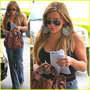 Hilary Duff Donates to South Ho