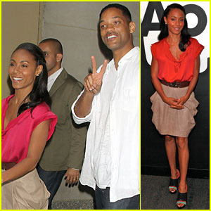 Will & Jada Pinkett Smith Leave 'Today' Together