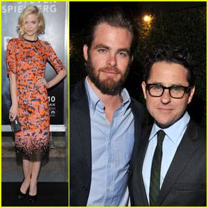Chris Pine &#038; Jaime King: 'Super 8' Premiere!