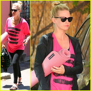 January Jones: 'X-Men' Character Was a Bit Intimidating!