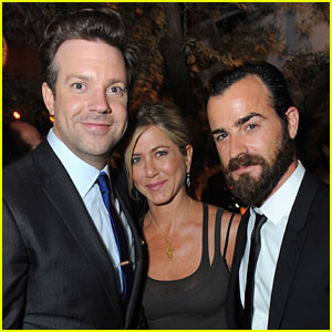 Jennifer Aniston & Justin Theroux: Jason Sudeikis Party!