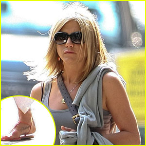 Jennifer Aniston: Tattoo for Norman!