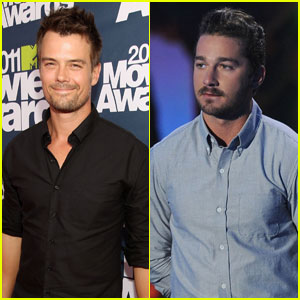 Josh Duhamel & Shia LaBeouf: MTV Movie Awards Presenters