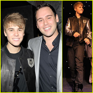 Justin Bieber: Scooter Braun's 30th Birthday Bash!