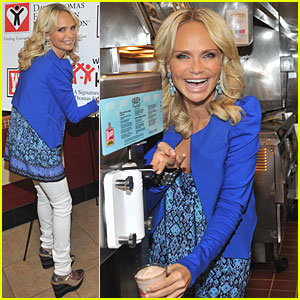 Kristin Chenoweth: Father's Day Frosty Weekend!