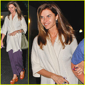 Maria Shriver: Malibu Dinner with the Family