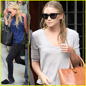 Mary-Kate & Ashley Olsen: Busy Day in New York!