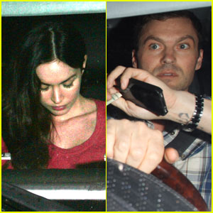 Megan Fox & Brian Austin Green: Dinner Date