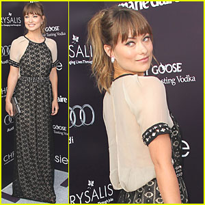 Olivia Wilde: Chrysalis Butterfly Ball