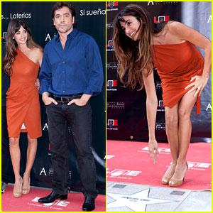 Penelope Cruz: Walk of Fame Ceremony with Javier Bardem!