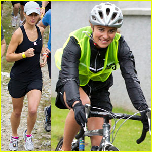 Pippa Middleton: Highland Cross Racer Gal!