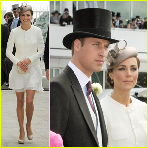 Prince William & Kate: Derby Day Duo