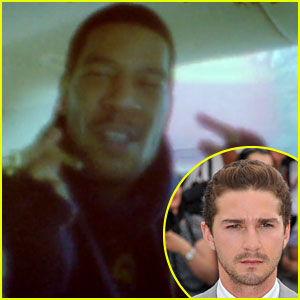 Shia LaBeouf Directs Kid Cudi's 'Marijuana' Video