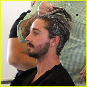 Shia LaBeouf: Hair Salon Stop
