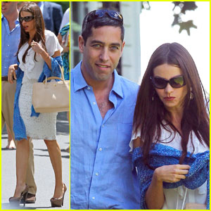 Sofia Vergara: Manolo's Graduation with Nick Loeb!