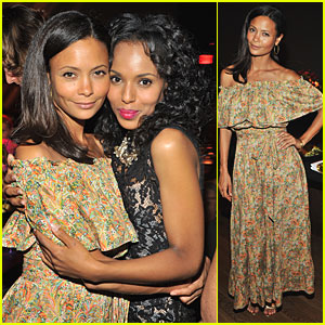 Thandie Newton & Kerry Washington: Viva Vevolution!