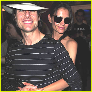 Tom Cruise & Katie Holmes: 'Rock of Ages' Cast Party!