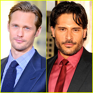 Alexander Skarsgard & Joe Manganiello: New Movie Roles!