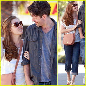 Amy Adams & Darren Le Gallo: Art Supplies Shopping!