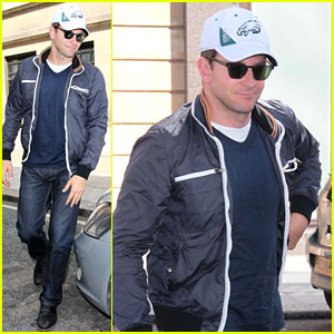 Bradley Cooper: Arthur Ashe Kids' Day Tennis Player!