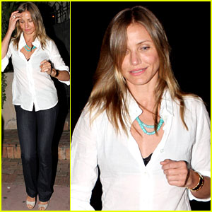 Cameron Diaz: 'What to Expect...' Begins Filming!