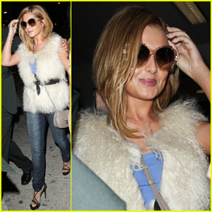 Cheryl Cole: LAX Landing with Kimberley Walsh!