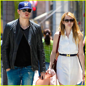 Chord Overstreet & Emma Roberts: Beverly Hills Shoppers!