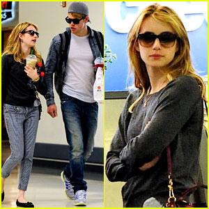 Chord Overstreet &#038; Emma Roberts: McDonalds Mates!