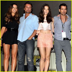 Colin Farrell &#038; Jessica Biel: 'Total Recall' at Comic Con!