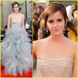 Emma Watson: 'Harry Potter Deathly Hallows' Premiere!