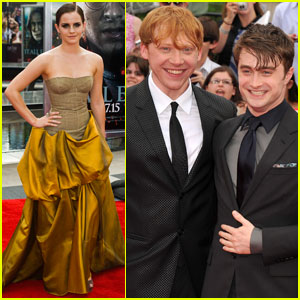 Emma Watson &#038; Daniel Radcliffe: 'Deathly Hallows' NYC Premiere!