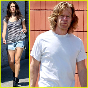 Emmy Rossum: 'Shameless' Set with William H. Macy!