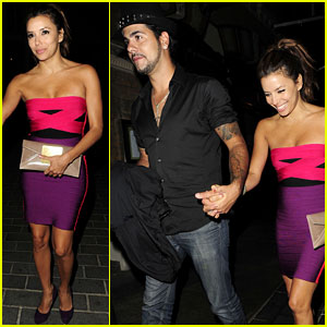 Eva Longoria & Eduardo Cruz: London Lovers!