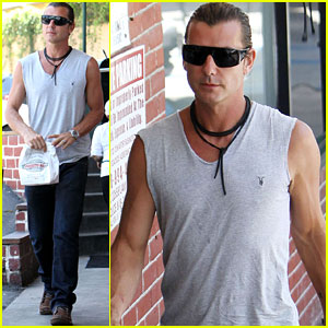 Gavin Rossdale: Sleeveless Muscle Man!