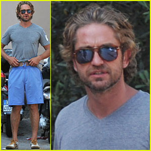 Gerard Butler: Sightseeing in Ischia!
