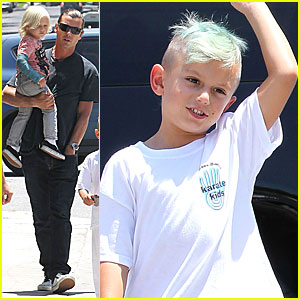 Gwen Stefani: Kingston is a Karate Kid