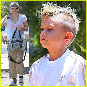 Gwen Stefani, Kingston &#038; Zuma: Down on the Farm!