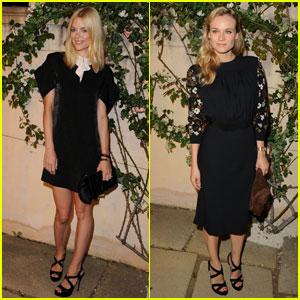 Jaime King & Diane Kruger Make It To Miu Miu's 'Muta'