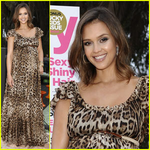 Jessica Alba: Lucky Magazine & ThisNext Party!