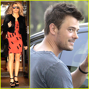 Josh Duhamel: Gas Station Good Deed!