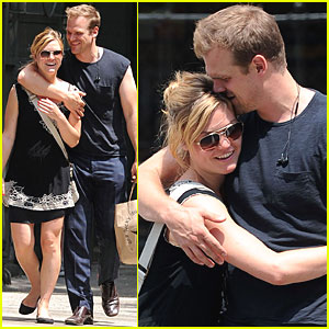 Julia Stiles & David Harbour: Loved Up in NYC!