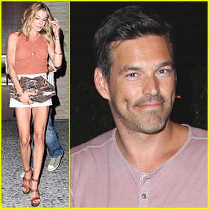 LeAnn Rimes & Eddie Cibrian: Red O Dinner with Friends