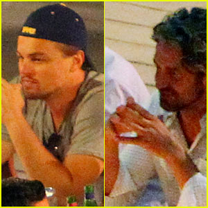 Leonardo DiCaprio &#038; Gerard Butler: Dinner in Italy!