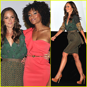Minka Kelly: 'Charlie's Angels' Comic-Con Panel!