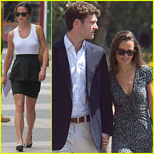 Pippa Middleton: Cricket Match with Alex Loudon!